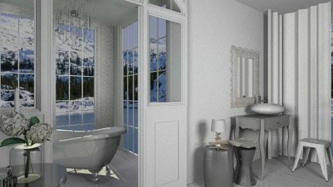 bathroom - Glamour - Bathroom - by amandafern