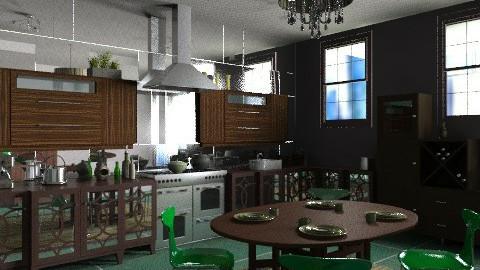 High rise apartment - Eclectic - Kitchen - by mrschicken