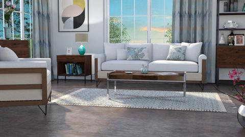 M_ Magnolia repeat - Living room - by milyca8