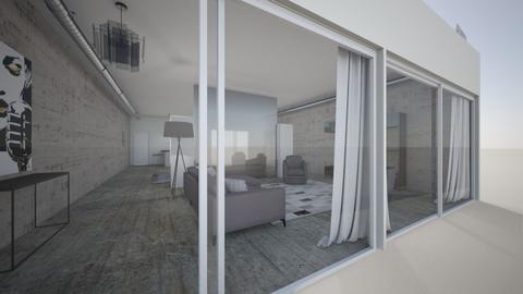 The Loft - Living room - by Dwellings LLC