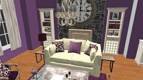 A bit industrial - Living room - by mel1808