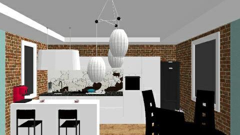 kitchen - Retro - Kitchen - by irina 74