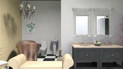 bathroom - Glamour - Bathroom - by laruue