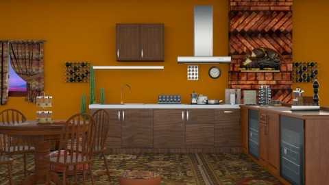 Eastern Spice - Modern - Kitchen - by InteriorDesigner111
