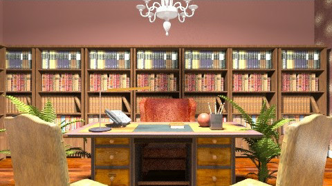 Antique Office - Classic - Office - by deleted_1566988695_Saharasaraharas