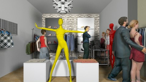 boutique shop - Glamour - by mimiB