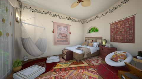 boho bedroom - Eclectic - Bedroom - by Carys_mckenna