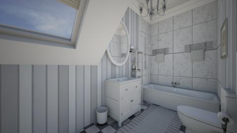 Mini Bath - Minimal - Bathroom - by DiamondJ569