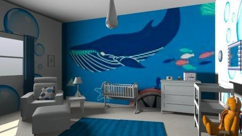 Boys nursery - Eclectic - Kids room - by raphaelfernandesdesign