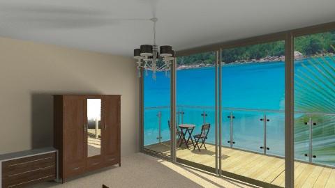 Bedroom with sea view - Modern - Bedroom - by AoifeK