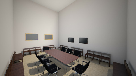 AV Team Office 3 - Minimal - Office - by IshamJake