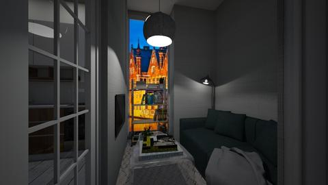 Casa174LivingArea - Classic - Living room - by nickynunes