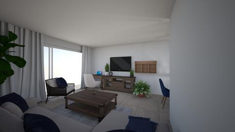 Sarah Apt 3 wall shelving - Living room - by emmanuelmanny