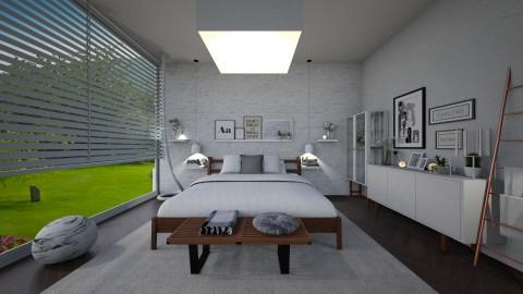 Simple Bedroom 2 - by camilla_saurus