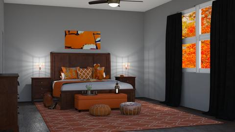 Fall Bedroom - Bedroom - by aestheticdiabetic