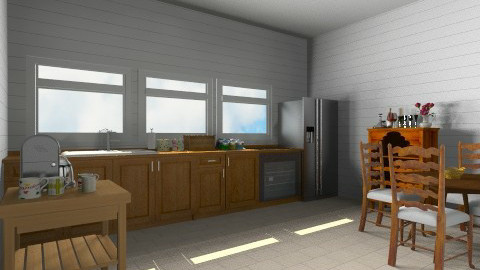 farmhouse kitchen - Country - Kitchen - by martinabb