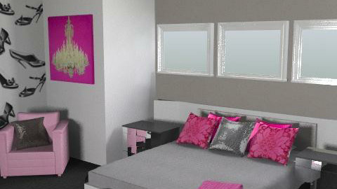 Glamour And Glitz - Feminine - Bedroom - by 08Meyers