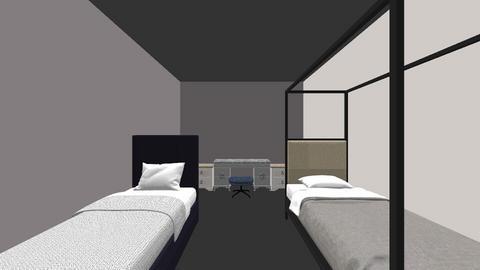 cuarto - Modern - Bedroom - by gacho_24