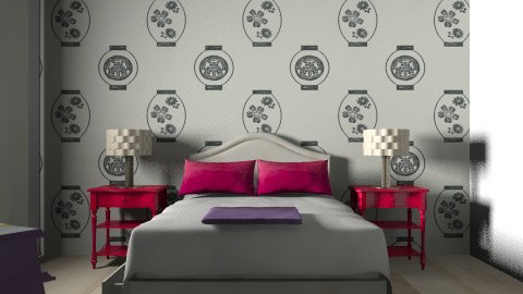 funny bedroom - Modern - Bedroom - by tamyres