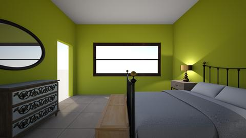 Mommas room - Bedroom - by tatianammramos