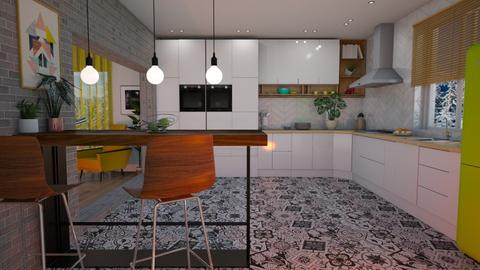 Scandinavian style - Kitchen - by snjeskasmjeska