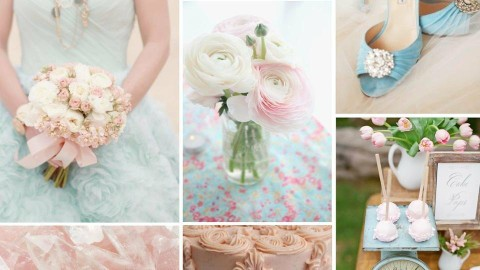 Pink n Blue Wedding - by Anvitha