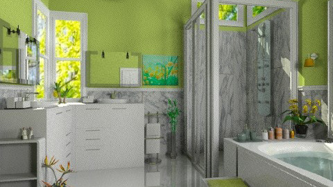 Kiwi - Modern - Bathroom - by Bibiche