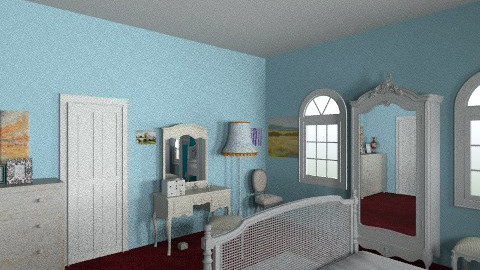 Loznice - Rustic - Bathroom - by TanaChroustova