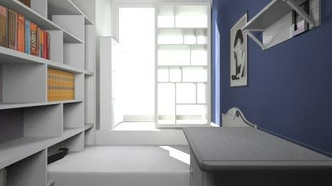 Remodelacion1 Oficina CFA - Modern - Office - by elisamaturana