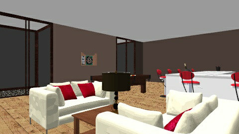 Adults only level - Living room - by Bekarr