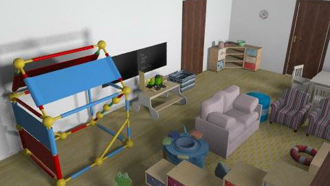 ici dc - Classic - Kids room - by mehar
