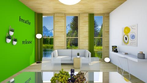 Template room - Living room - by intdeson