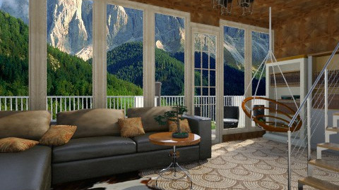Window Wood Living - Living room - by Gchoir