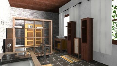 saladeban6 - Rustic - Bathroom - by izarochaa