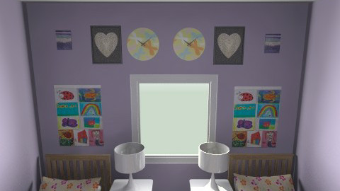 Finished Symmetrical  - Feminine - Kids room - by AbbeySwagler