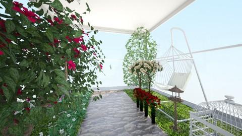 Flower Power - Feminine - Garden - by Roomstyler666