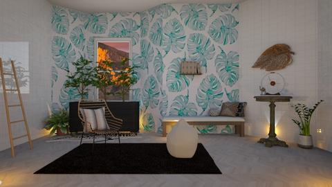 greens - Living room - by Snowy Tiger
