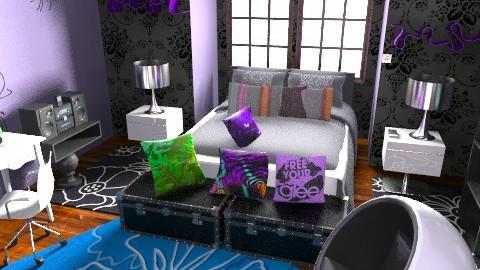 Paris Chic Teen Bed - Eclectic - Bedroom - by Design_freak