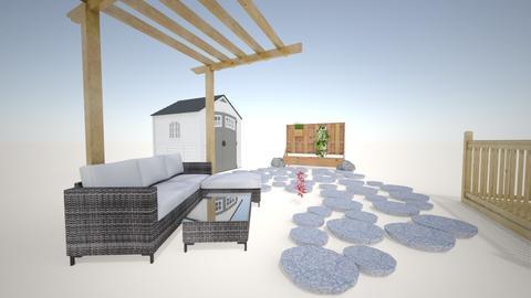 Backyard - Garden - by gbbowner