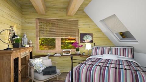 lovely bed - Bedroom - by Inokentijroom