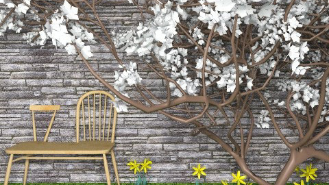 Spring has Sprung - Minimal - Garden - by Theadora