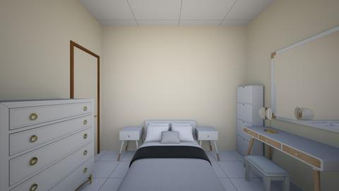 quarto G - Rustic - Bedroom - by myrleneleite