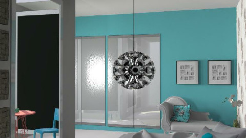 Minimal - Aqua - Minimal - Bedroom - by hunny