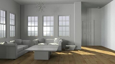 white loft - Modern - Living room - by monicasabile
