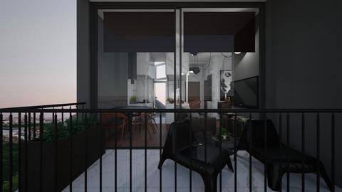 Casa207Balcony - Modern - Garden - by nickynunes