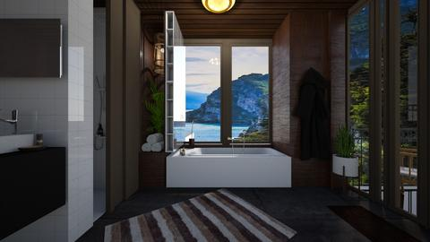 mid century - Modern - Bathroom - by i l o n a