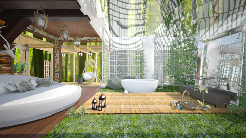Idas spa - Modern - Bathroom - by Ida Dzanovic