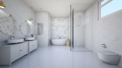 marble main b - Bathroom - by lvh93_