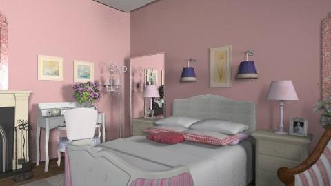 Belle_2 - Rustic - Bedroom - by milyca8