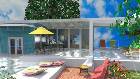 Cancun Resort - Modern - Garden - by Bibiche
